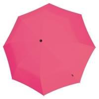 Складной зонт U.090, розовый