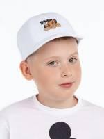 Бейсболка детская Simba, белая