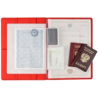 Папка для хранения документов Devon Maxi, красная