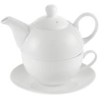 Чайный набор «Эгоист», белый