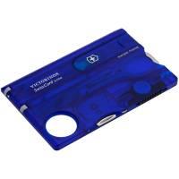 Набор инструментов SwissCard Lite, синий
