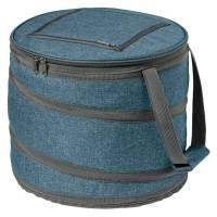 Складная сумка-холодильник Coast, синяя