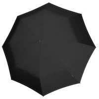 Складной зонт U.090, черный с неоново-зеленым