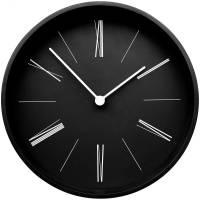 Часы настенные Boston, черные