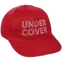 Бейсболка с вышивкой Undercover, красная
