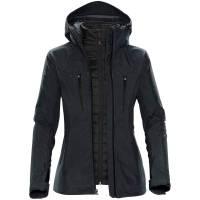 Куртка-трансформер женская Matrix, серая с черным