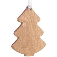 Деревянная подвеска Carving Oak, в форме елочки