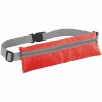 Спортивная поясная сумка On the Run, красная