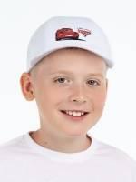 Бейсболка детская Lightning McQueen, белая