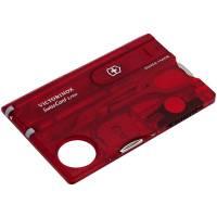 Набор инструментов SwissCard Lite, красный
