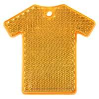 Светоотражатель «Футболка», оранжевый