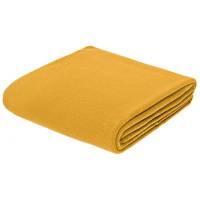 Флисовый плед Warm&Peace XL, желтый