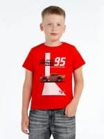 Футболка детская McQueen 95, красная