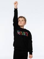 Свитшот детский Marvel Avengers, черный