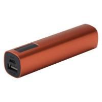 Внешний аккумулятор Easy Metal 2200 мАч, оранжевый
