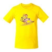 Футболка детская Skateboard, желтая