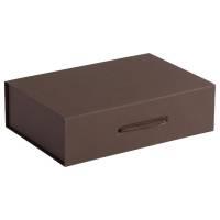 Коробка Case, подарочная, коричневая