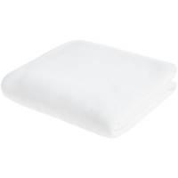 Флисовый плед Warm&Peace XL, белый