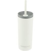 Термостакан Superb Sippy с трубочкой, белый