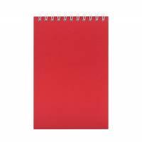 Блокнот Nettuno Mini в линейку, красный