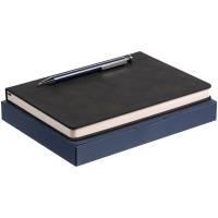Набор Magnet с ежедневником, черный с синим