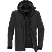 Куртка-трансформер мужская Matrix, серая с черным