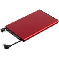 Металлический аккумулятор Double Reel 5000 мАч, красный