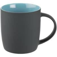 Кружка Surprise Touch c покрытием софт-тач, голубая