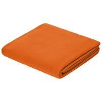 Флисовый плед Warm&Peace XL, оранжевый
