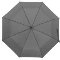 Зонт складной Monsoon, серый