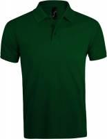 Рубашка поло мужская Prime Men 200 темно-зеленая