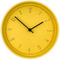 Часы настенные Spice, желтые
