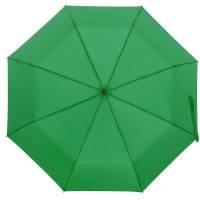 Зонт складной Monsoon, зеленый
