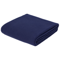 Флисовый плед Warm&Peace XL, синий