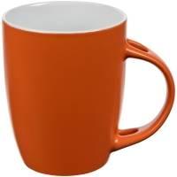 Кружка с ложкой Cheer Up ver.2, оранжевая
