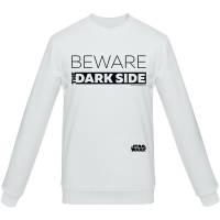 Свитшот Beware The Dark Side, белый