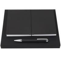 Набор Storyline: блокнот А5 и ручка, черный