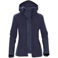 Куртка-трансформер женская Matrix, темно-синяя