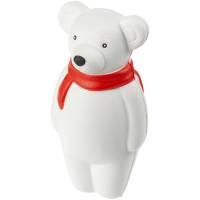 Сквиши-антистресс «Мишка», с красным шарфом