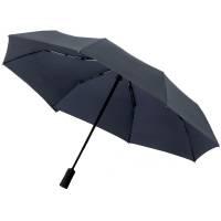 Складной зонт doubleDub, темно-синий