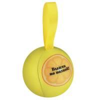 Шарик-антистресс с пожеланием «Лимон», желтый