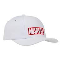 Бейсболка Marvel, белая
