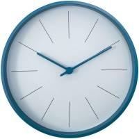 Часы настенные Moon, голубые