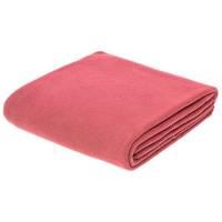 Флисовый плед Warm&Peace XL, розовый (коралловый)