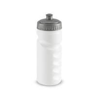 Бутылка для велосипеда Lowry, белая с серым