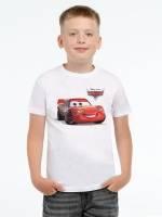 Футболка детская Lightning McQueen, белая