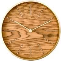 Часы настенные Oscar, дуб