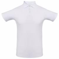 Рубашка поло Unit Virma, белая, размер M