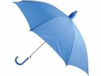 Зонт-трость, полуавтоматический в телескопическом футляре. Пластиковый футляр надежно изолирует мокр