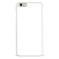 Чехол 2D для iPhone Plus 6 пластик, белый